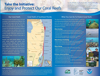 Take the Initiative: Enjoy and protect our coral reefs.