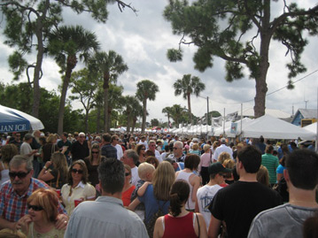 The Port Salerno Seafood Festival. <br/>Photo: Christopher Boykin, FDEP CRCP